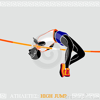 Athlete High Jump