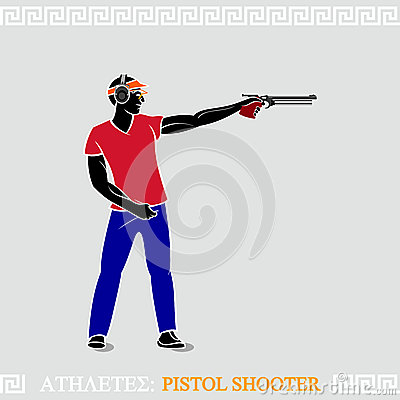 Athlete Pistol Shooter