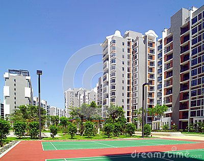 Athletes Village Editorial Stock Photo