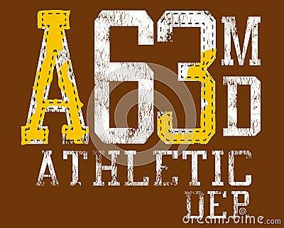 Athletic clothing markings