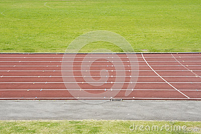 The athletic track