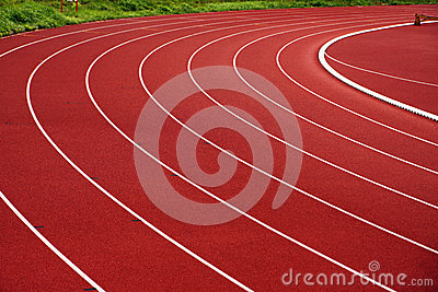 Athletic track