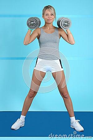 Free Athletic Training Stock Photo - 1705620