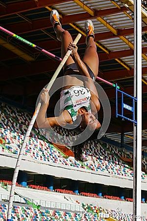 Athletics Championship, Vera Lavrador Editorial Stock Photo
