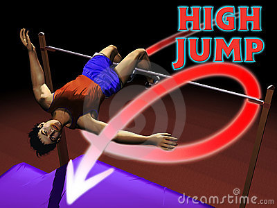 Athletics High jump
