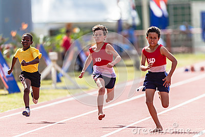 Athletics Juniors Sprint Editorial Image