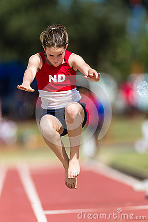 Athletics Long Jump Girl