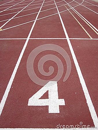 Athletics running track 4