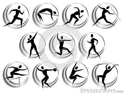 Athletics symbols