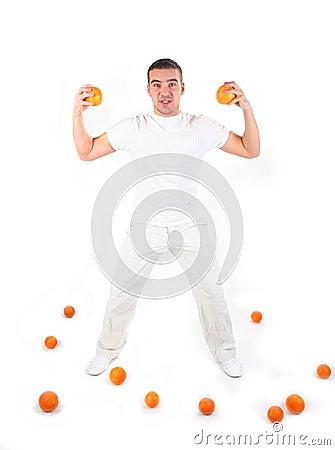 Athletischer Kerl