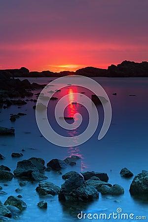 Free Athopol Sunrise Royalty Free Stock Photos - 41117148