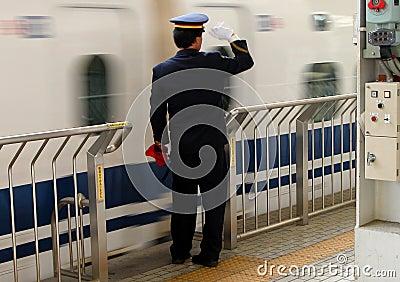 Atividades da estação de comboio