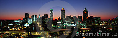 Atlanta skyline Editorial Photo
