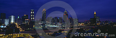 Atlanta Skyline Editorial Stock Photo