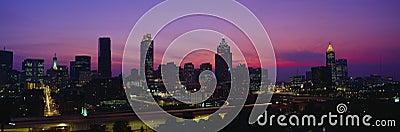 Atlanta Skyline Editorial Stock Photo