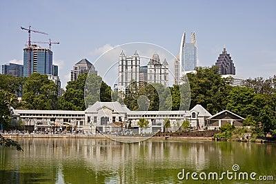 Atlanta Towers Past Swimming Pool