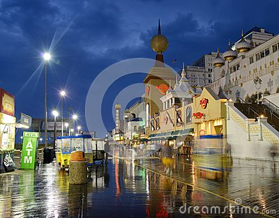 Atlantic City Editorial Stock Photo