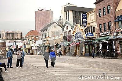Atlantic City Boardwalk Editorial Photo