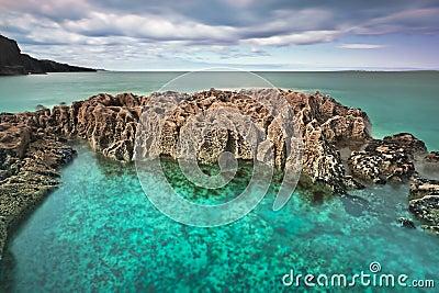 Atlantic coast in Fanore