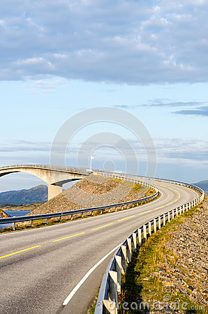 The Atlantic coast road