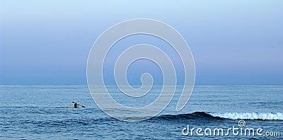 Atlantic kayaker