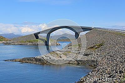 Atlantic Ocean Road. Norway