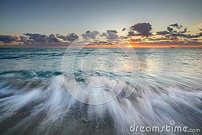 Atlantic Ocean at sunrise
