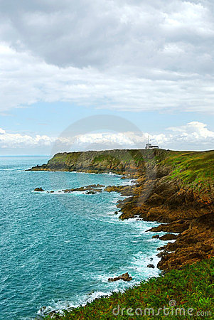 Atlantisk brittany kust