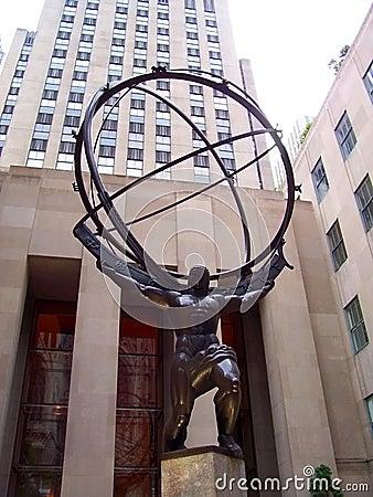 Free Atlas Statue Stock Image - 3888231