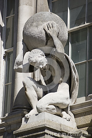 Atlas Statue, City of London