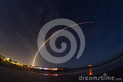 Atlas V rocket launch Editorial Photo