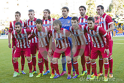 Atletico de Madrid Editorial Image
