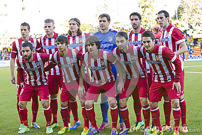Atletico de Madrid team players