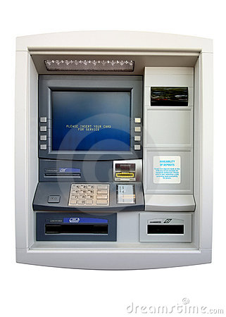 ATM - Automated Teller Machine (Isolated)