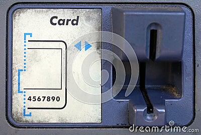 ATM Card Swipe