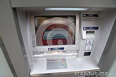 ATM cash machine Editorial Stock Image