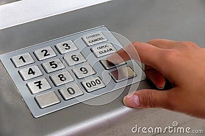 ATM dial