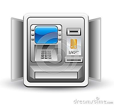 m t bank machine