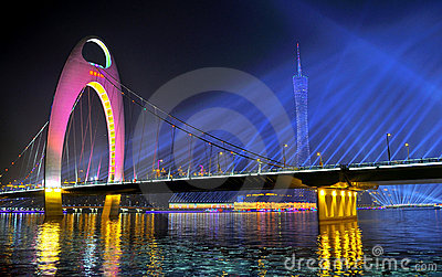 Atmosphere of the 16th Asian Games Decoration Editorial Photo