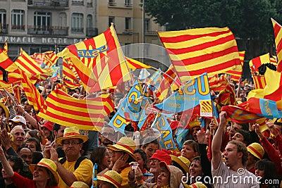 Atmosphere in Perpignan Editorial Stock Image