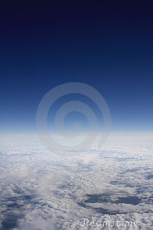 Atmospheric view of clouds