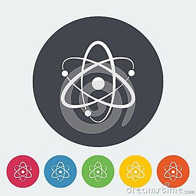 Free Atom Icon Stock Photos - 90678673