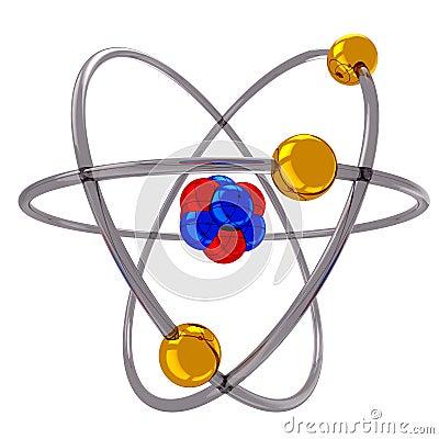 Atom Model Royalty Free Stock Image - Image: 35693136 Diagram Of Neon Atom