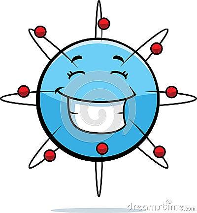 Atom Smiling