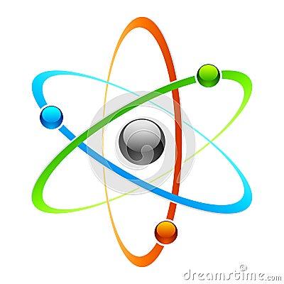 Free Atom Symbol Stock Images - 16466824