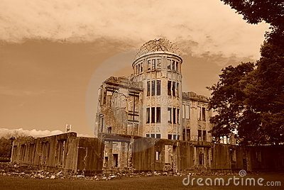 Atomic Bomb Dome Editorial Photo