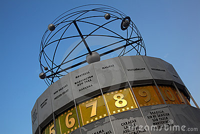 Atomic clock, Alexanderplatz, Berlin
