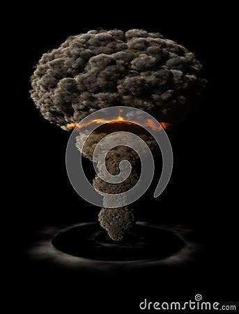 Free Atomic Explosion Stock Image - 3739961
