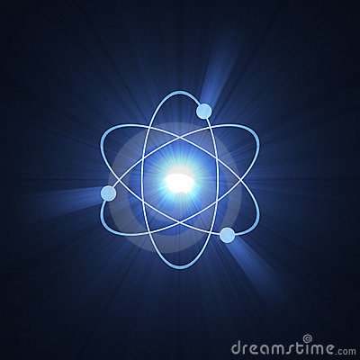 Atomic sign atom structure halo