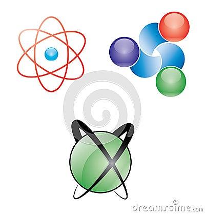 Atomic web icons
